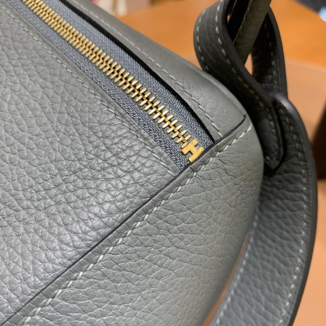 Hermès(爱马仕)Lindy 琳迪包 TC 杏仁绿 金扣 26cm 现货