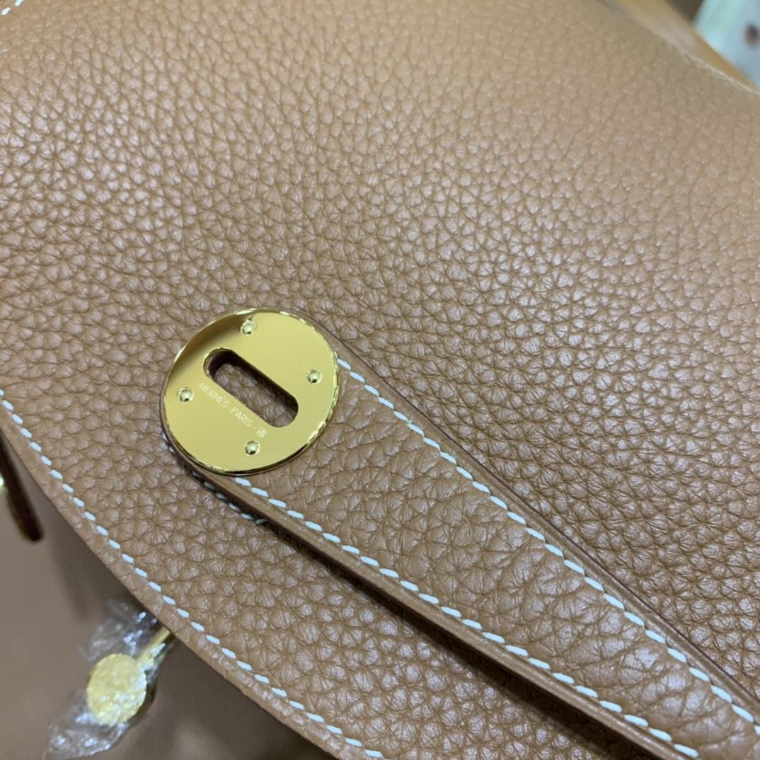 Hermès(爱马仕)Lindy 琳迪包 TC 金棕色 金扣 26cm 现货