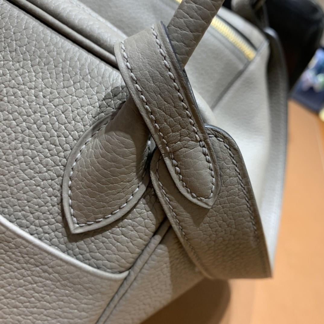 Hermès(爱马仕)Lindy 琳迪包 TC 锡器灰 金扣 26cm