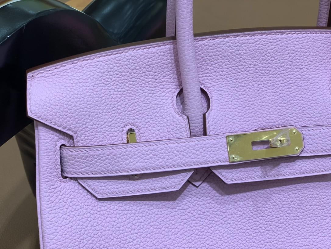 Hermès(爱马仕) Birkin 铂金包 Togo X9 锦葵紫 金扣 30cm