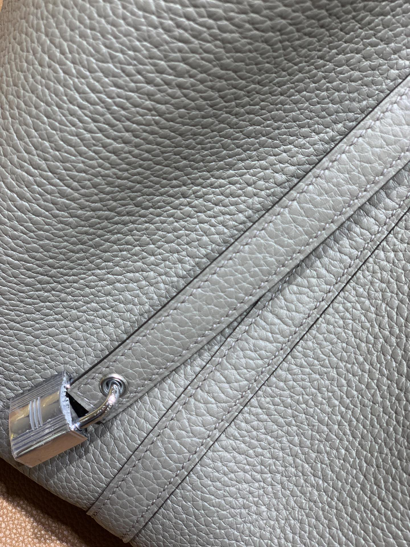 Hermès(爱马仕)Picotin 菜篮子 TC 锡器灰 银扣 22cm